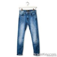 Men Heavy Contrast Jeans