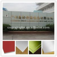 Acm Laminate Composite Aluminum Panel/aluminum Trailer Side Panel