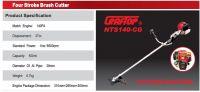 NTS 140-CG Brush Cutter