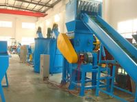 PET Bottles Crushing Washing Dewatering Drying Recycling Line
