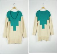 Jumper | With A Mint Chevron | W...