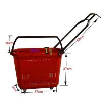 Rolling Basket With 4wheels -(30L)