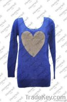SWEEWE GOLDEN HEART SWEATER