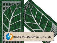 Perforated Metal Sheet | Leaf Design |