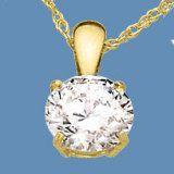 9k Yellow Gold Pendant With Gemstone (LPG1112)