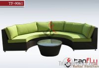 Garden Modular Wicker Sofa