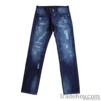 Dark Wash Men Jeans