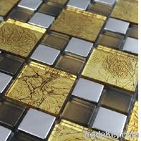 Backsplashe Mosaic Bathroom Tile (Stainles...