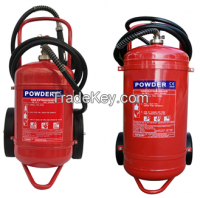 CE(EN3-8) Approved Trolley Powder Extinguishers 25kg 50Kg