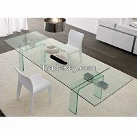 10MM Clear   Tempered Glass As Dining  Table