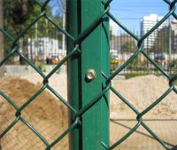 Hot Sale Galvanized/PVC Coated Chain Link Fence