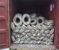 Electro Galvanized Iron Wire 8# - 36# Of Factory