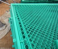 50*50mm 100*100MM PVC Chain Link Fence